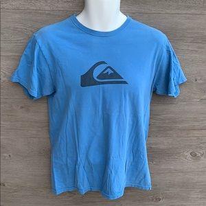 ⚡️3/$25 Blue Quicksilver tshirt